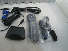 WINDOWS MEDIA CENTER REMOTE CONTROL TRANSMITTER RECEIVER VGA INFARED USB CORDS