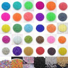 Wholesale Lots 1000pcs 2mm Loose Charm Czech Glass Beads Jewelry Making Craft