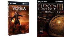 Victoria 2 & Europa Universalis III Chronicles