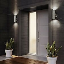Stainless Steel Up and Down Wall Light Outdoor Spot light Halogen Bulbs GU10 LED