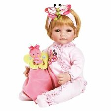 Adora Baby Girl Doll 20 Butterfly Romper Boo Sandy Blond Hair Hazel Eyes