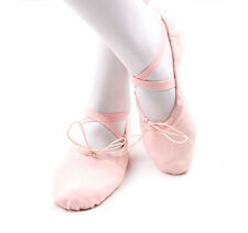 Ballet Pointe Dance Shoes Professional Girls Slippers Ladies Child