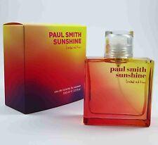 PAUL SMITH SUNSHINE pour femmes édition limitée 100 ML EDT Eau de toilette