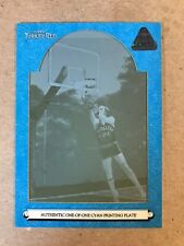 Rick Barry 2006-07 Topps Turkey Red Cyan Printing Plate 1/1