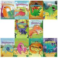 Early Learning Miles Kelly Dinosaur Adventures 10 Books Collection Set