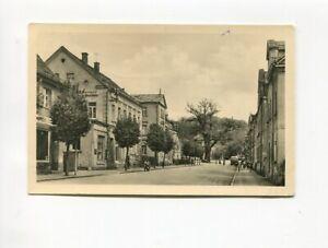 uralte AK Berga an der Elster Bahnhofstraße mit 1000jähriger Eiche 1960 //49