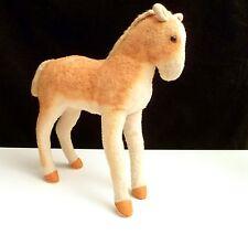 "Vintage Antique Steiff Horse Pre WWII 1930s 1940s 28cm 10½""  Button In Ear"