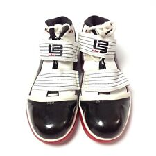 7644a6145557 New ListingNike Zoom Soldier III (POP)Playoffs LeBron 358558-101 Basketball  Shoes US Sz 10