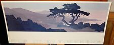 "JERRY SCHURR ""POINT LOBOS"" SUMMA GALLERY BROOKLYN HEIGHTS NEW YORK HUGE POSTER"