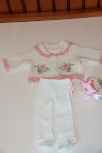 American Girl Bitty Baby Deluxe Layette Sweater & Tights