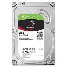 Seagate IronWolf 2TB NAS HDD 3.5 Inch 64MB Cache RAID Network Storage