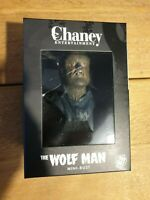THE WOLFMAN - UNIVERSAL MONSTERS GIANTS OF HORROR 1/6 SCALE MINI BUST - BNISB