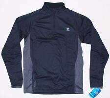 Champion Men's Powertrain Tech Fleece 1/4 Zip Pullover Navy Blue S6601 S