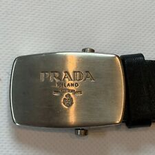 Genuine Prada Buckle And Belt