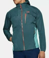 Under Armour Pertex Scrambler Waterproof Hooded Hiking Jacket Full Zip Medium