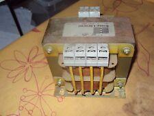 transformator transformer 200Watt, pri. 220+380V. sec 21,24,27 Volt