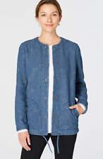 J. Jill - 4X - Stylish & Comfy Pure Jill Crinkled Jacket - River Wash - NWT$139