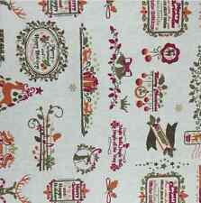 Christmas Linen Fabric for tablecloth DIY Throw Pillow Apron curtain 50x145cm