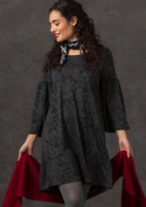 BNWT *Gudrun Sjoden* fabulous Kalejdoskop print jersey tunic dress XL