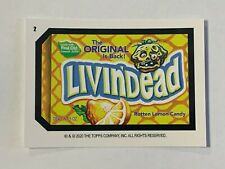 2020 Wacky Packages All New Weekly Series June - Livin'Dead (#2) Red Ludlow