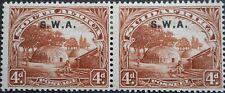 South West Africa 1928 4d pair SG 62 mint