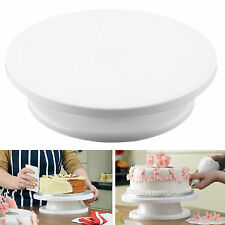 11 Rotating Revolving Cake Plate Decorating Turntable Kitchen Display Stand New