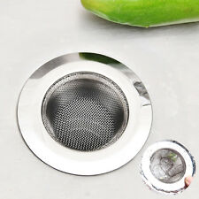 Hair Catcher Stopper Shower Drain Hole Filter Strainer Stainless Steel Bathtub