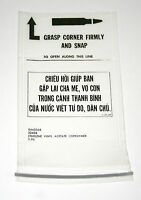2 Rare 1970 Vietnam US Army Military Bullet Ammo Bag NOS New