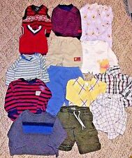 Lot of 14 Boys Clothes 3-6 Months Pants Vests Shirts Winter