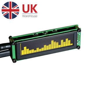 AK2132 OLED Music Audio Spectrum Analyzer Monitor Sound Level Display VU Meter