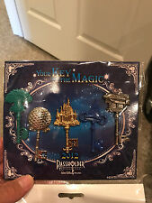 2012 Disney Your Key to the Magic Passholder Set of 5 Pins Rare