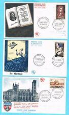 B3051 - FRANCE - 5 Enveloppes 1er Jour de 1955