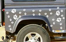 32 DOG PAW PRINT STICKERS Car Wall Stickers Decals Graphics