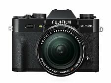 Fujifilm X-T20 24.3MP Digital Camera + XF18-55mm Lens Kit Black *Free Shipping*