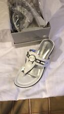 Marc Fisher Sandals 6.5 White Heeled