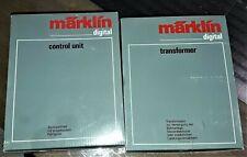 Märklin Control unit 6021 + Transformer 6002 OVP