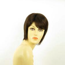 short wig for women chocolate copper wick ref OCEANE 6h30 PERUK