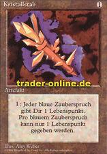 Kristallstab (Crystal Rod) Magic limited black bordered german beta fbb foreign