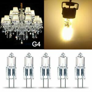 10 Pack G4 Base 10W 20W Halogen Light Bulbs Bi-Pin 12V 20W T3 JC Lamp 12 Volt