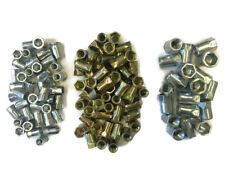 100 Piece Assortment of 6mm, 8mm and 10mm Hexserts Nutserts Rivnuts,Half Hex