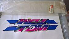 NOS Genuine Yamaha Fairing Decal Sticker Emblem Graphic Set 3VD-28390-20 TDM850
