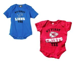 Outerstuff NFL Baby/Infant My First Tee Bodysuit - Choose Team