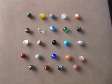 Lot of 24 Marbles balls 8mm