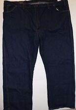 NWT Dickies Men's Regular Fit Straight Leg 5 Pocket Blue Jeans 56 x 30 Irregular