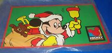 Disney Retired 1990's Mickey Mouse 2 Sided Mickey Unlimited Display Sign