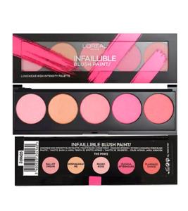 L'Oreal Paris Infallible Paint Blush Palette 10g - Pinks