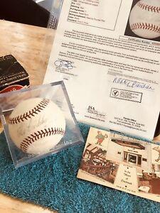 RARE! Tex Carlton Signed/dated Baseball on 4/30/1940 Pitched His No Hitter JSA
