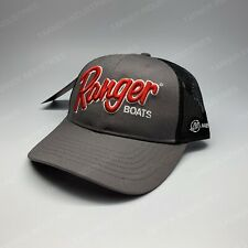 Ranger Boats Mercury Cap Bass Boats Charcoal Hat Fishing R19A-H662 Merc Pxs4