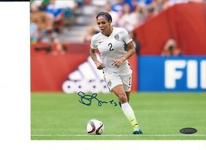 USA Women's Soccer Sydney Leroux #2 Autographed Photo
