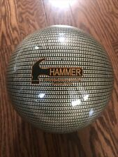 Hammer Bowling Ball 14 lbs Hypnotic Pattern EUC